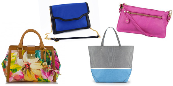 Bold handbags for spring