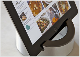 Kitchen tablet stand