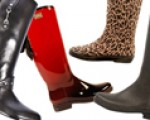 Gilt City Fashionista: Pretty and practical rain boots from dav