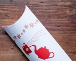 Printable holiday pillow boxes